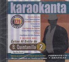 Beto Quintanilla 2 Karaoke Nuevo Sealed
