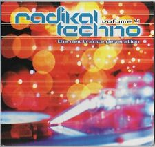 Radikal Techno Vol. 4: The New Trance Generation by Various Artists CD Jul-2000!