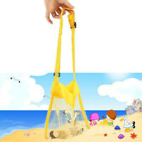 Großen Strandsh Bag Tote Tasche für Sandkasten Spielzeug Beach Balls Deko D6G8