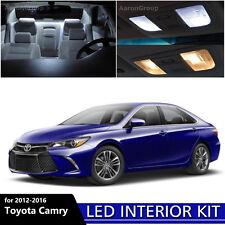 13PCS White Interior LED Light Package Kit For 2012 - 2016 Toyota Camry