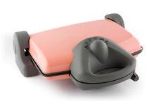 King grillmax parrilla de contacto sandwichera mesa barbacoa parrilla eléctrica rosa