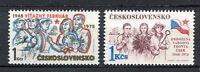 """33276) Czechoslovakia 1978 MNH """"Victorious February"""" 2v"""
