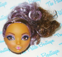 EVER AFTER HIGH HAT-TASTIC CEDAR WOOD DOLL HEAD ONLY FOR REPLACEMENT OR OOAK
