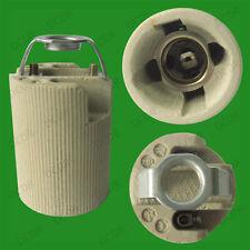 Small Edison Screw E14 SES Ceramic Socket Light Bulb M10 Bracket Lamp Holder