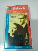 Rebeca Alfred Hitchcock Joan Fontaine - VHS Cinta Español Nueva