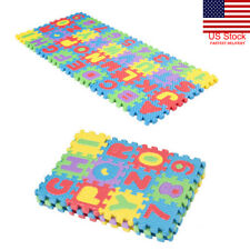 36pcs Soft Eva Foam Baby Play Floor Mat Alphabet Numbers Kid Diy Puzzle Jigsaw