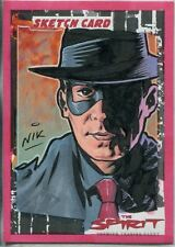 The Spirit [Movie] Sketch Card By Nick Neocleous