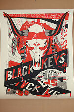 Tyler Stout Black Keys Las Vegas Poster Signed FREE SHIPPING IN US!