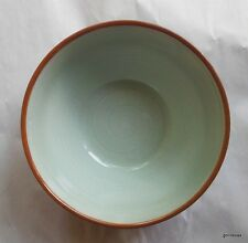 "Pier 1 Peninsula Rim Coupe Soup Bowl 6 1/2"" Retired Celadon Green"