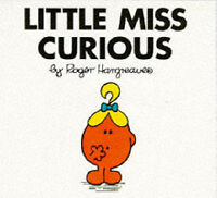 (Good)-Little Miss Curious (Little Miss Library) (Paperback)-Hargreaves, Roger-0