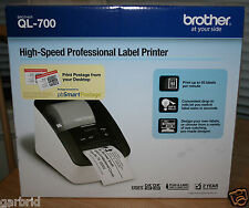 Brand New Brother QL-700 High-Speed Professional Thermal Label Printer
