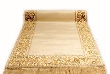 Maeander Teppich Läufer Beige 67x400 cm K-Seide Mäander Medusa Carpet Rug versac