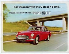 MG MGB GT 1965-69 UK Market Sales Brochure