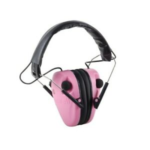 Caldwell 487111 E-Max Low Profile Electric Hearing Protection Pink