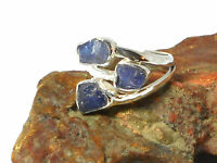 TANZANITE   Sterling  Silver  925  Gemstone  RING  -  Size: L  -  Gift  Boxed!