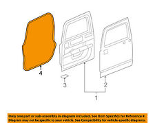 Hummer GM OEM 06-10 H3 Front Door-Weatherstrip Seal Left 25931869