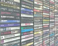 BUILD UR OWN Cassette Tape Lot - 80s 90s - U2, Eurythmics, The Cars, REM + More!