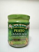 Pesto di basilco e mandorle vaso da 180g Sicilia