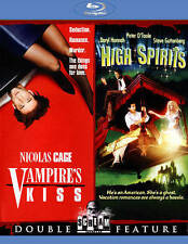 Vampire's Kiss / High Spirits Blu-ray - Scream Factory - Brand New