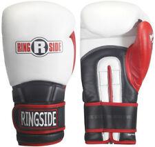 Ringside Pro Style Imf Tech Elastic Training Gloves - 14 oz - White