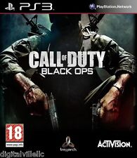 Call of Duty Black Ops PS3 Sony PlayStation 3 Brand New Sealed