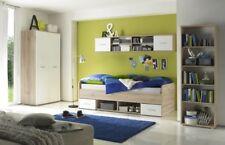 Kinderzimmer Nanu Komplettset Jugendzimmer Schlafzimmer Eiche San Remo / Weiß