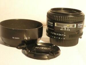 Nikon USA Nikkor AF-D 50mm F1.4D Autofocus FX Prime Lens