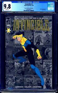Invincible #1 LCSD GOLD FOIL EDITION CGC 9.8 Amazon Prime ROBERT KIRKMAN NM/MT