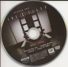 The X-Files (DVD) Replacement Disc Season 1 Disc 4 U.S. Issue Disc Only!