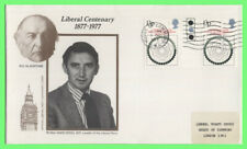 G.B. 1977 Commonwealth H.O.G. Liberal Cent. First Day Cover House of Commons slo