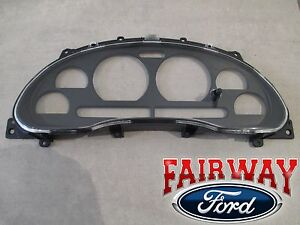 99 thru 04 Mustang OEM Genuine Ford Instrument Dash Cluster Lens Cover & Housing