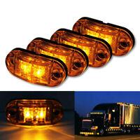 10x Ambre LED Feu de position Balance Éclairage clignotant Camion Remorque 12V