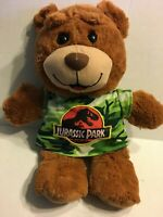 "Universal Studios Jurassic Park Brown Bear  20"" Plush Stuffed Animal"