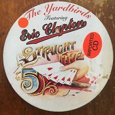 Yardbirds Straight Live Tin Drum Cd Eric Clapton Rare OOP