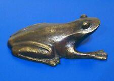 Bronze Frog Art Sculpture