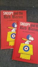 Snoopy and the Red Baron - Charles M. Schulz 1966 Stated HC First Ed. w/DJ