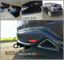 Honda civic FN2 TYPE R diffuser fins/ honda Civic Type R  diffuser/FN2 diffuser