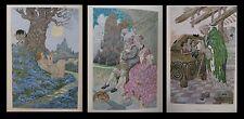 (SYMBOLISME ART-NOUVEAU] FRANCE (Anatole) / MOSSA - Sept femmes Barbe-Bleue.