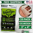 Rosin Press Mesh Filter Bags 2'x4' 120 Micron 25 Pack
