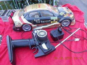 Fa. HBX RC Elektro Renn Wagen Auto Audi Maßstab 1:10 ca. 46 cm lang