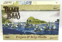 Black Seas 792010001 Frigates & Brigs Flotilla (Ship Expansion) Warlord Games
