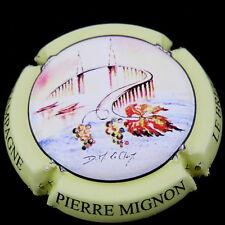 MIGNON  PIERRE  N°S70b  Cuvée  Pont de Cheviré , Ctr JAUNE PâLE
