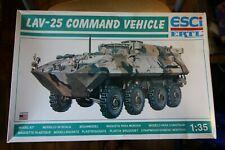 ESCi / ERTL LAV-25 COMMAND VEHICLE USMC 1/35 plastic model kit