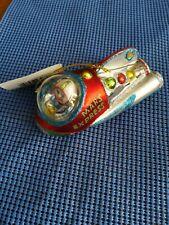 "Celebrate It 4.75"" Blown glass Space Man in Rocket Christmas Ornament"