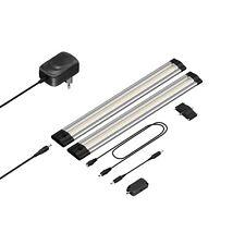 LED Unterbau-Leuchte Siris, Infrarot-Sensor, flach, 30cm, 220lm, weiß, 2er Set