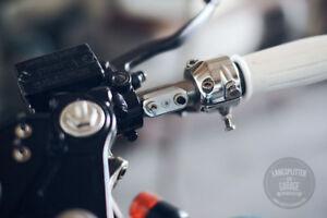 "Handlebar Switch Mini Aluminium 1"" POSH-Cafe Racer Bobber Chopper Custom"