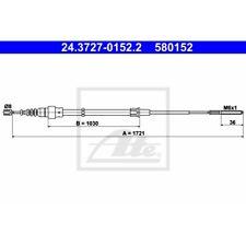 ORIGINAL ATE Handbremsseil Bremsseil VW Passat ua. Bj.90-97