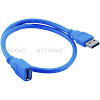 USB 3.0 Extension Extender Cable Cord Standard Type A Male to Female 1 FT 30cm
