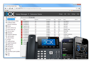 3CX VOIP Cloud Hosted PBX Phone System Server