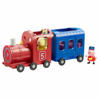 Peppa Pig Miss Rabbit's Train and Carriage - lots of room for Peppa and Friends